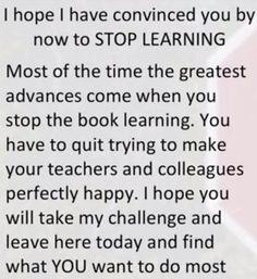 Stop learning - start thinking   Jacob Barnett. http://www.thextraordinary.org/jacob-barnett