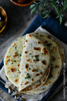 Vegetarian Recipes 56793 Flatbread Flatbread with Yogurt Indian Food Recipes, Vegetarian Recipes, Healthy Recipes, Chefs, Cooking Bread, Cooking Recipes, Kfc, Food Cravings, Gastronomia