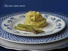 Pasta alla crema di asparagi Cucina vista mare