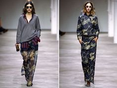 Dries Van Noten - loose and sexy