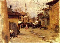 Arab Street Scene 1890 | John Singer Sargent | Oil Painting