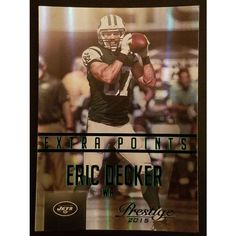 2015 Panini Prestige #28 Eric Decker Extra Points Green NY Jets Listing in the Football (American),Sports Stickers, Albums & Sets,Sport Memorabilia & Cards Category on eBid United States | 151668201