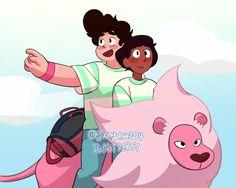Connie Steven Universe, Steven Universe Ships, Steven Universe Comic, Connie Stevens, Anime Art, Memes, Fan Art, Comics, Disney Characters