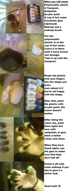 Dragon Claws Tutorial by *The-Teaspoon-Of-Doom on deviantART