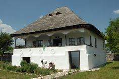 The Shortwave Radio Audio Archive Vernacular Architecture, European House, Good House, Gaudi, Beautiful Architecture, Traditional House, Moldova, Floor Plans, Cottage