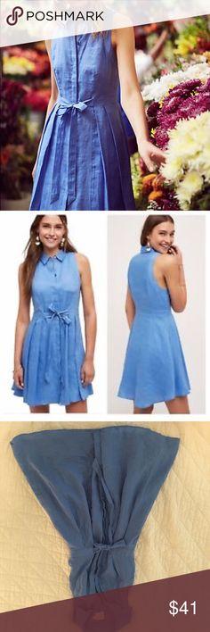 cf52c13a8e0 Anthropologie HD Paris Printemps linen shirt dress Perfect summer dress  from Anthropologie. Linen with rayon