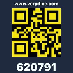 Everyone go get the app VERYDICE! The more you play the more FREEEEEEE items you receive. Use code 620791 for FREE ROLLS!