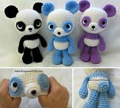 Panda Crochet Patterns