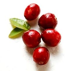 Cranberry – great for respiratory and urinary tracts, tannic and oxalic acids