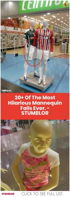 20+ Of The Most Hilarious Mannequin Fails Ever. #fails #fail #mannequin #mannequin #japan #hilarious #fun #funnypics