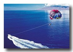 Thought it would be so neat to go parasailing. My Grandpa made that possible in 1994 in Maui. He took me there after graduating from High School. Hawaii Tours, Maui Hawaii, Oahu, Maui Vacation, Need A Vacation, Okinawa Japan, Kyoto Japan, Parasailing, Water Activities
