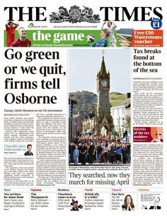 Go #Green or We Go Home - #energy firms lobby government for green investment