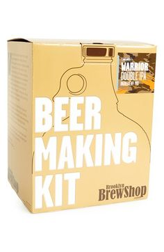 beer making kit for the men http://rstyle.me/n/iiakzr9te