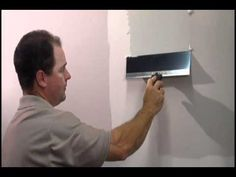 How to tape drywall joints - YouTube