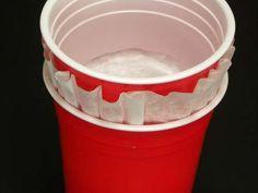 Solo cup noise maker