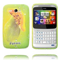 Fresh Fruit (Papaya) HTC ChaCha Cover