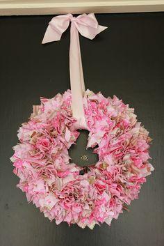 My Greenbrae Cottage: My {Pretty -n- Pink} Valentine's Day Wreath