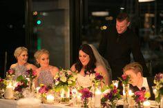 Main wedding table inspiration. Candles, flowers, modern  NATHAN  KARA Saturday time to celebrate! slips on slippers and SITC repeats got any plans? . . . . . Brides Gown: @miasolano Groom Suit: @danielhechterau MUA: @becdonechy Hair: @amandagorej Celebrant: @beccelebrant Photo: @sydneyweddingdreamlife Cake: @cakeartaustralia Ceremony: @Illawarra Rhododendron Gardens Reception: @harbourfrontrestaurant Styling  Flowers: @dbj_events