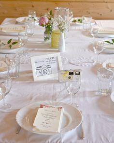 Tischdeko Es War Vielleicht Nicht Alles Super Glatt Gebügelt Aber So Wie Wir Uns Vorgestellt Haben Ps Tischdecken Wurden 2 Mal