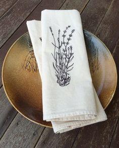Flour Sack Towel Set Cotton Tea Towels Flour by HearthandHarrow