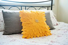 20 Creative Ways to Make Your Own Pillows via Brit + Co.