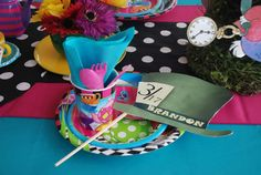 Mad Hatter/Alice in Wonderland Birthday Party Ideas | Photo 15 of 24