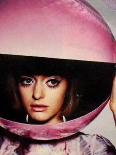 Giles Deacon helmet. S)