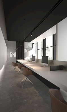 Office Interior Design Ideas is enormously important for your home. Whether you pick the Office Decor Professional Interior Design or Corporate Office Decorating Ideas, you will create the best Modern Home Office Design for your own life. Contemporary Apartment, Contemporary Office, Contemporary Interior, Contemporary Garden, Contemporary Stairs, Contemporary Wallpaper, Contemporary Chandelier, Contemporary Architecture, Modern Contemporary