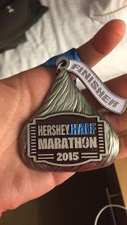 Hershey Half Marathon Race Recap - I did it!!!