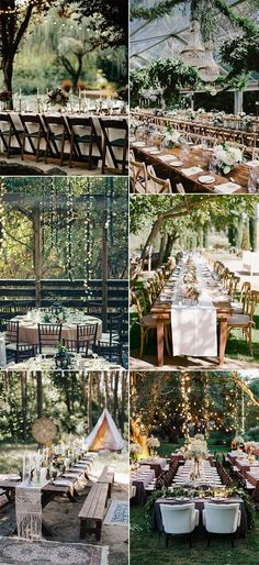 25 Whimsical Woodsy Forest Wedding Reception Ideas for 2019 Trends - Page 2 of 2 - Oh Best Day Ever forest inspired wedding reception ideas for 2019 Always wanted to discover ways to knit, although undecided where to beg. Forest Wedding Reception, Wedding Reception Centerpieces, Reception Ideas, Wedding Decorations, Wedding Receptions, Outdoor Wedding Photography, Outdoor Weddings, Beach Weddings, Vintage Wedding Colors