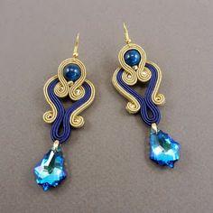 Jewelry Findings, Beaded Jewelry, Handmade Jewelry, Beaded Bracelets, Trendy Jewelry, Jewelry Trends, Soutache Tutorial, Ideas Joyería, Best Friend Jewelry