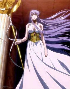 The Lost Canvas Athena Sasha Sasha Athena, Anime Saint, Knights Of The Zodiac, O Pokemon, Sailor Moon, The Big Four, Anime Screenshots, Baymax, Anime Comics