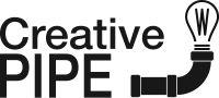 creative pipe logo