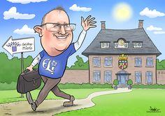 Van Nuenen naar Geldrop - De Karikaturist