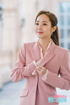What's Wrong With Secretary Kim - Park min young Korean Girl Fashion, Young Fashion, Asian Actors, Korean Actresses, Park Min Young, Iranian Women, Professional Outfits, Korean Celebrities, City Hunter
