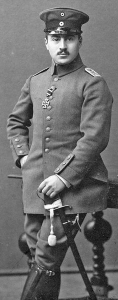 Ernst Hess, Adolf Hitler's company commander in WWI, who was, despite his Jewish roots, spared from the genocide unleashed by the Nazis.