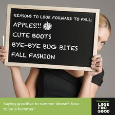 Fall is a time for a fresh start! #WWLoves