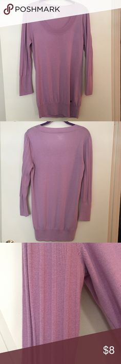 🌸SALE🌸 Calvin Klein Lilac Sweater Size Medium Calvin Klein Lilac Lightweight Sweater Size Medium. 3/4 sleeves and cute sleeve detail. Thanks for looking! Calvin Klein Sweaters Crew & Scoop Necks