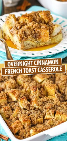 Easy Overnight Baked French Toast Casserole Recipe