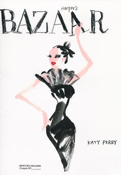 Katy Perry covers the September 2015 issue of Harper's Bazaar in Saint Laurent» Miyuki Ohashi
