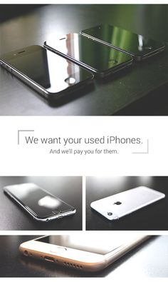 Get some extra cash for selling your used iPhones to ePelican.com