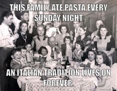 So grateful I grew in this style. Italian holiday or just a plain ole Sunday.yes, that's the way it's done! To have five minutes back at that table would be heaven. Italian People, Italian Girls, Italian Style, Vintage Italian, Italian Girl Problems, Italian Thanksgiving, Sunday Gravy, Italian Humor, Italian Sayings