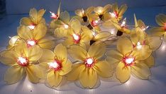 yellow japanese apricot cute nice string lights 20 by candoall