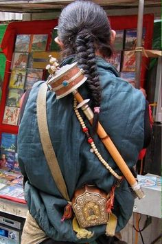 Tibetan Musician - Tara Clair Candoli