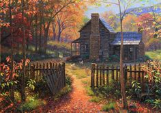 Autumn at the cabin