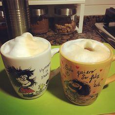 Para terminar el día #cappuccinos #instacoffee #coffeetime #coffeelover #happy #hogar #hope #hogardulcehogar #relax #love #Mafalda #taza #mug #tazapersonalizada #cafe #instacafe by rachel_nodal
