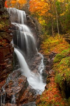 ~~Autumn in New Hampshire ~ Franconia Notch State Park by Ken Smith~~