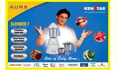 KENSTAR: Slender 7 - Mixer Grinder