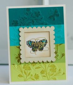 A beautiful card by Betsy Veldman! Bazzill-Hope-Card