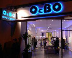 Agencement du magasin de l'Opticien Ocbo à Marseille